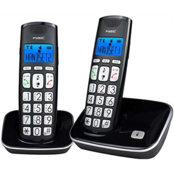 Seniorentelefoon DECT twinset met grote toetsen | FX-7020