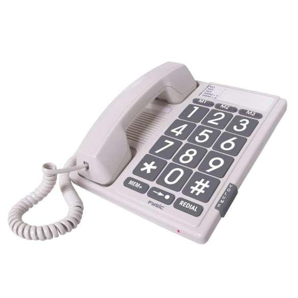 Big Button vaste telefoon met extra grote cijfers | Fysic FX-3100