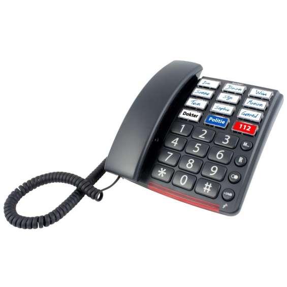 Big Button vaste telefoon met snelkiestoetsen | Fysic FX-3390