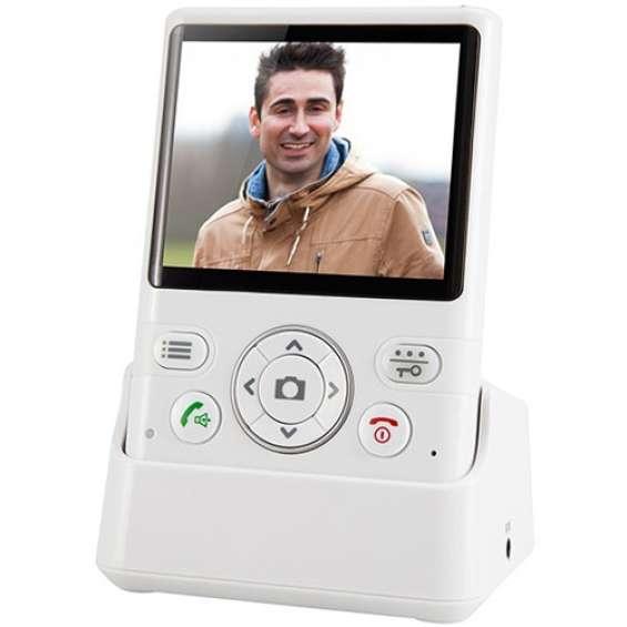 """Draadloze deurbel met camera en 3,5"""" beeldscherm - Fysic FDC-250"""