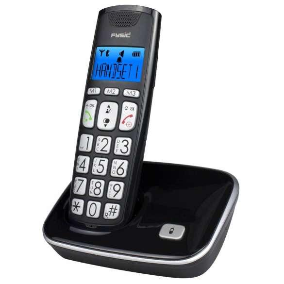 Draadloze DECT telefoon met extra grote toetsen | FX-7000