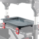 Rollator dienblad universeel | Voor zittingen tot maximaal 22 centimeter diep