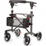 Rollator MultiMotion Trollimaster RA66 Antraciet - Medium