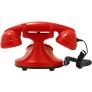FunkyFon huistelefoon met draaischijf - Rood
