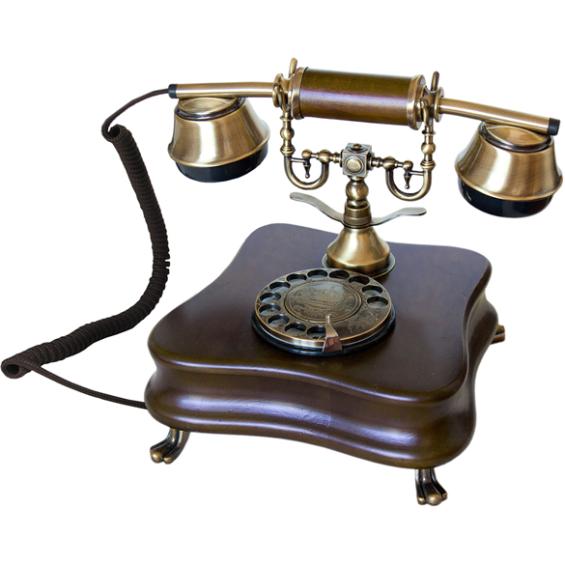 Opis 1921 klassieke huistelefoon - Model B