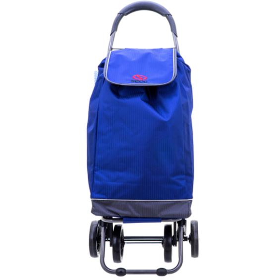 2Mobility boodschappenwagen - Korenblauw