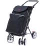 2Mobility boodschappenwagen Deluxe - Zwart