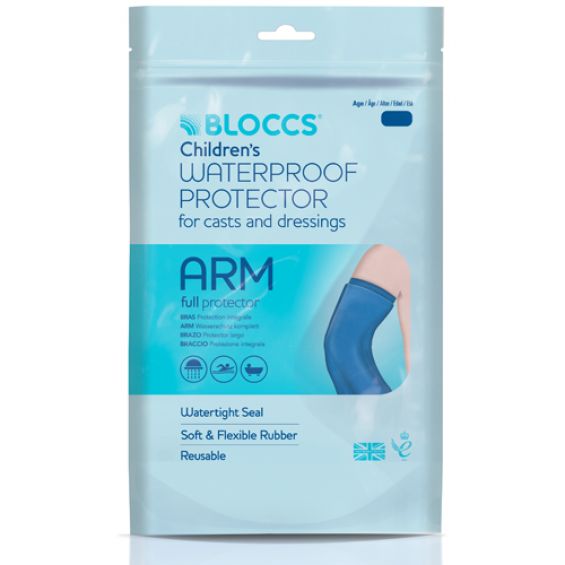 Bloccs gipshoes gehele arm kind 11 - 14 jaar