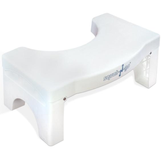 Squat-N-Go toiletkrukje - opvouwbaar - Wit