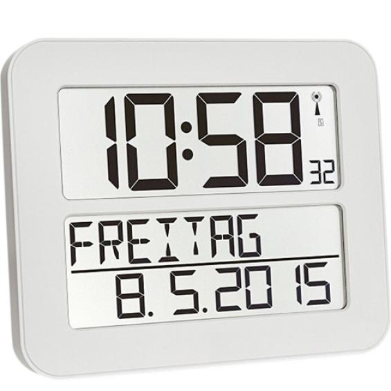 Radiografische kalenderklok TF2000 Wit| Timeline Maxx