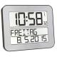 Radiografische kalenderklok TF2000 Zilver | Timeline Maxx