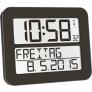 Radiografische kalenderklok TF2000 Zwart | Timeline Maxx