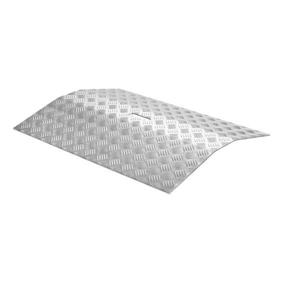 Drempelbrug aluminium - 0 - 6cm