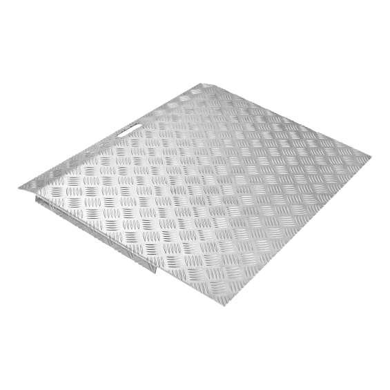 Aluminium drempelhulp SecuCare - 5 - 15cm