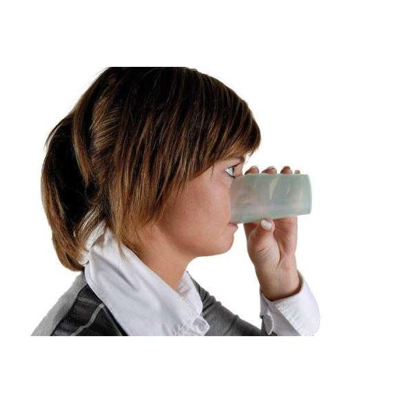 Drinkbeker Nosey groen - 240