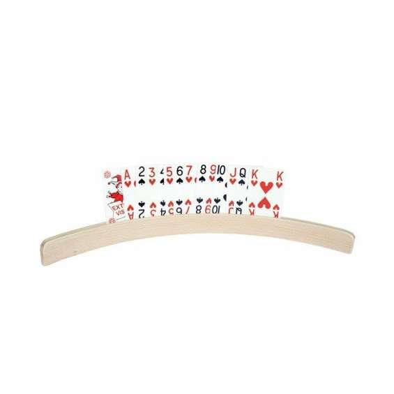 Speelkaartenhouder hout | 25 centimeter
