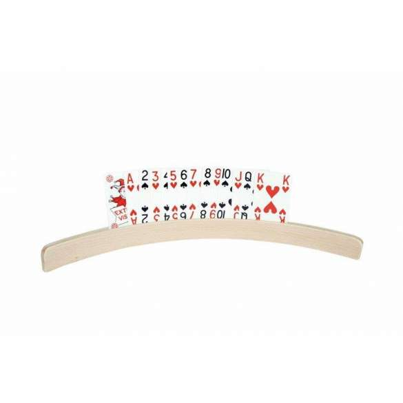 Speelkaartenhouder hout | 35 centimeter