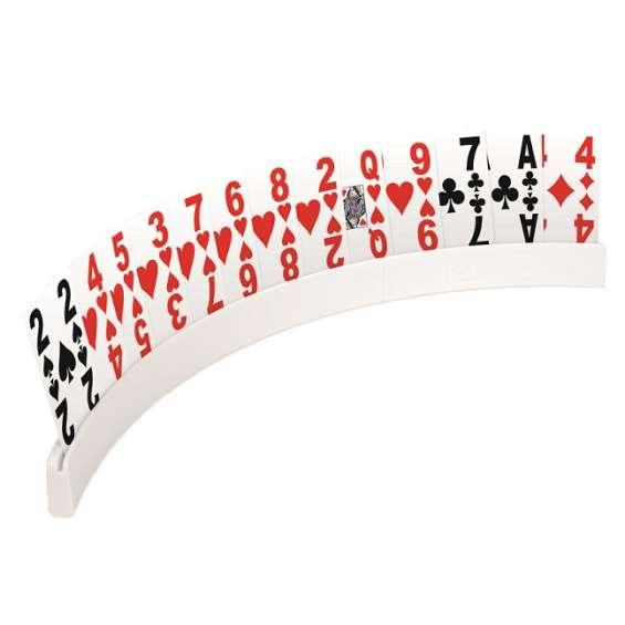 Speelkaartenhouder deelbaar | Kunststof