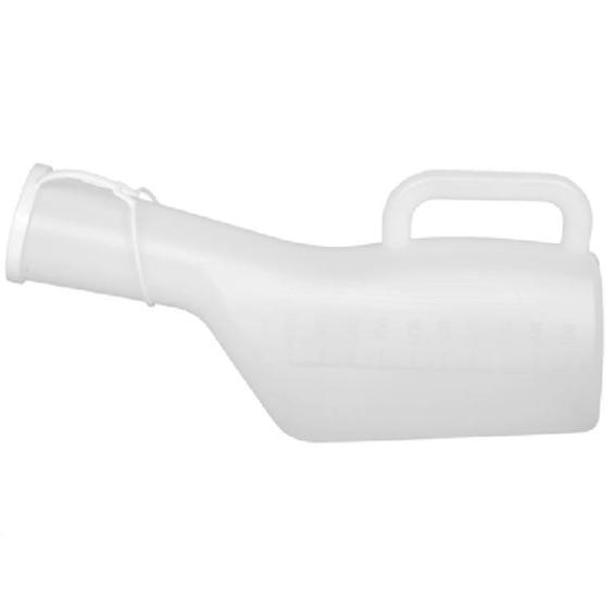 Urinaal man met deksel - 1 Liter