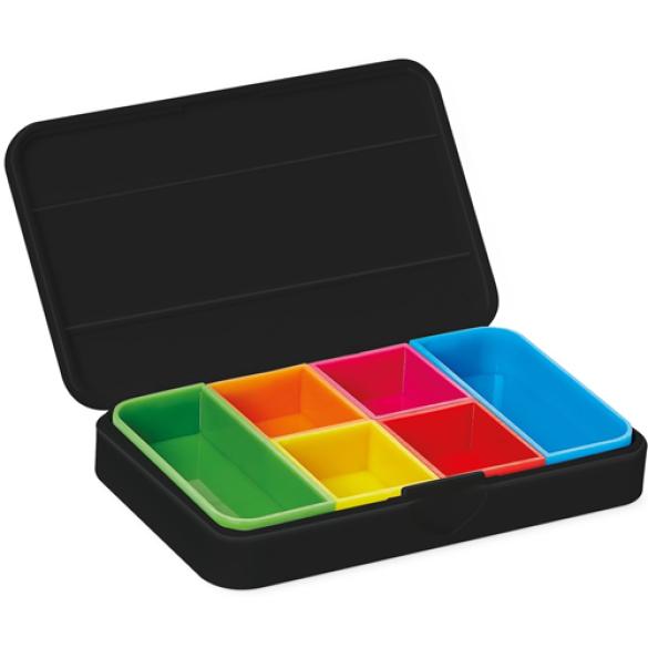 Smart Pill Box Pillendoosje Vitility - Zwart