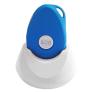 Wuzzi Alert alarmknop - Blauw + gratis bureaulader t.w.v. 25,00