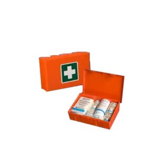 Verbandtrommel / EHBO pakket met muurbevestiging