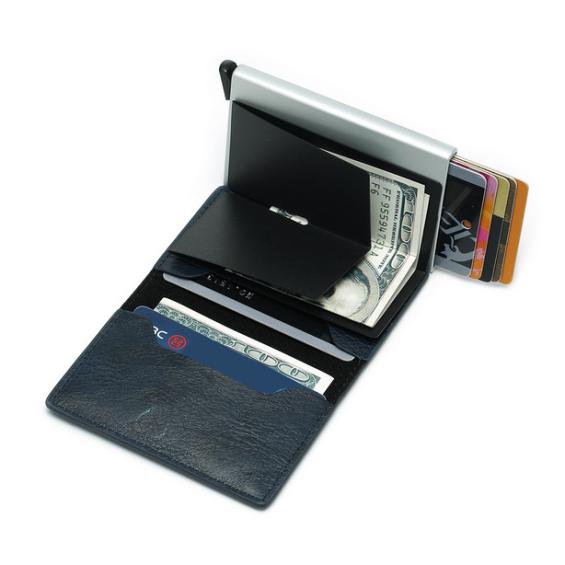 Anti skim portemonnee - Zwart