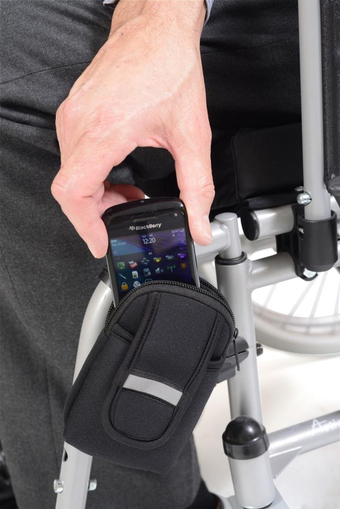 Telefoonhouder rolstoel Able2 | ALS218