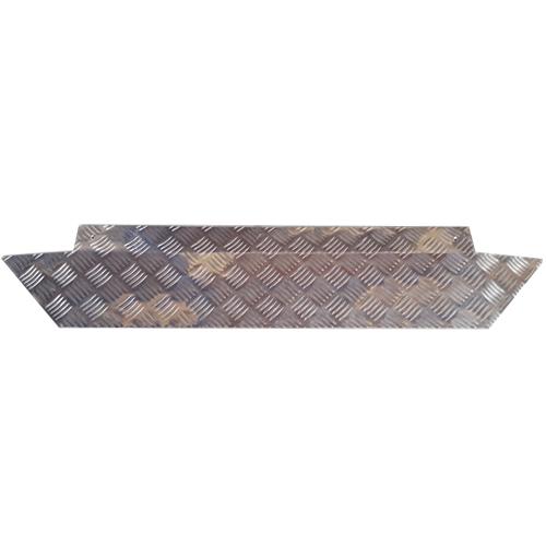 Drempelhulp traanplaat 2 tot 5 cm