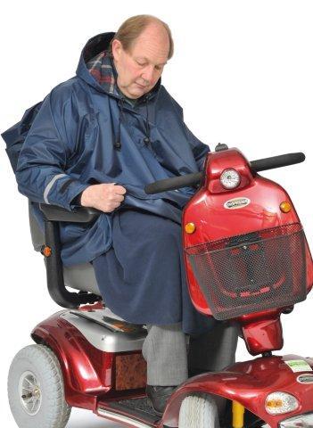 Mobility poncho 3 in 1 met mouwen - Gevoerd