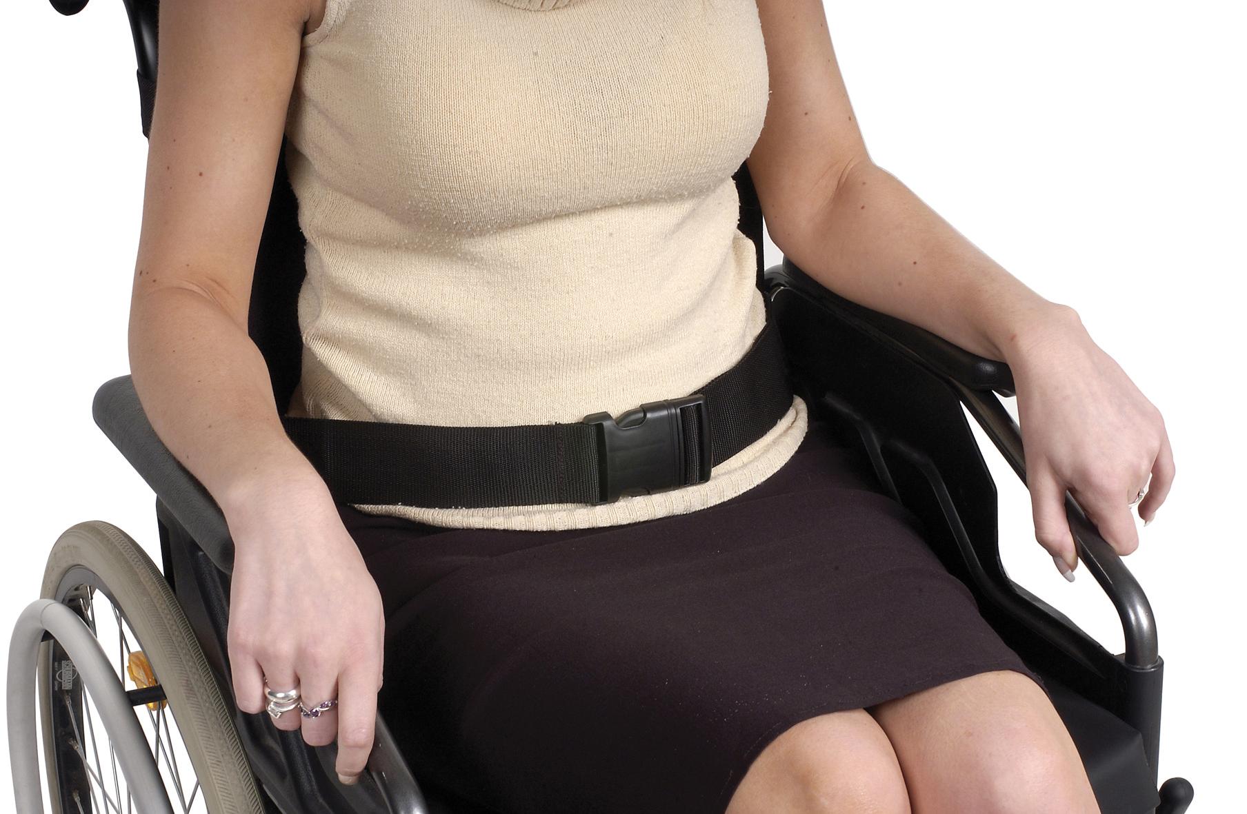 Veiligheidsriem voor rolstoelgebruikers