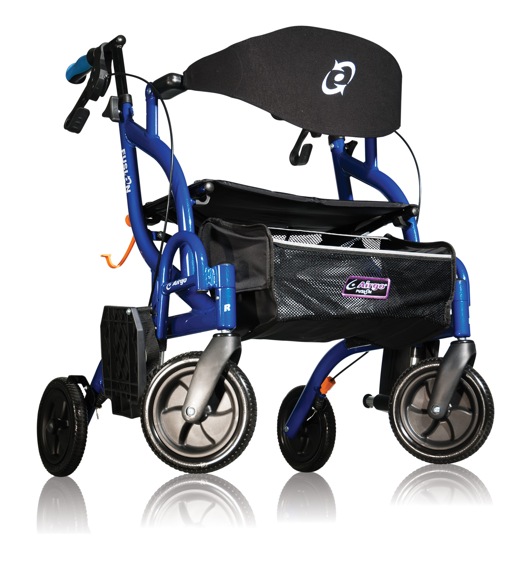 Airgo Fusion Rollator / Transportstoel