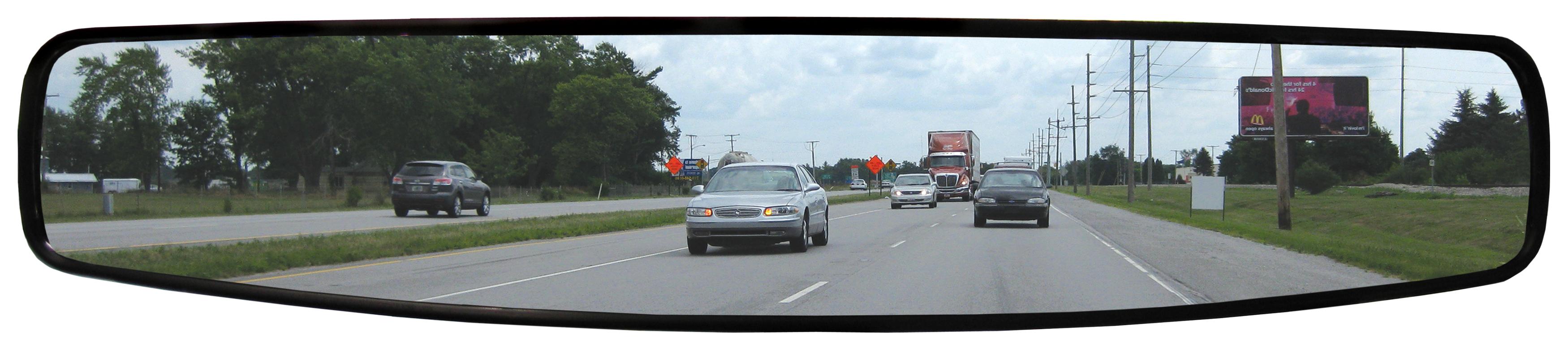 Panoramische autospiegel - Universeel