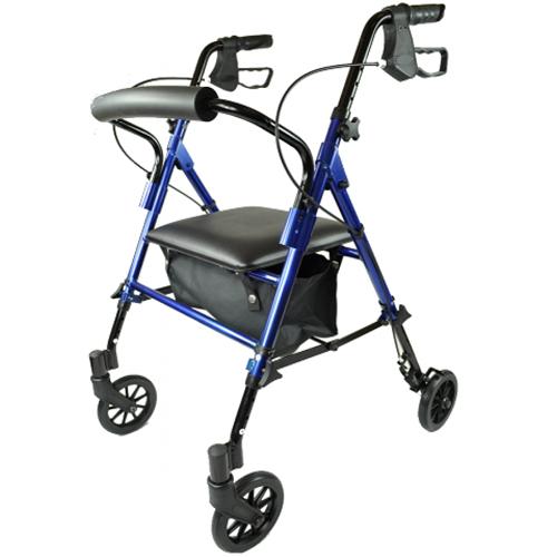 Rollator lichtgewicht Able2 - Blauw