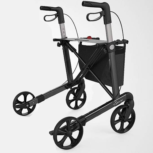 Rehasense Server rollator - Antraciet
