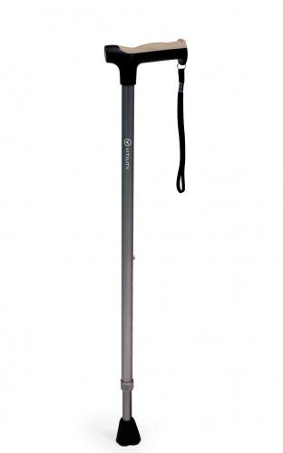 Vitility verstelbare wandelstok - Donker grijs