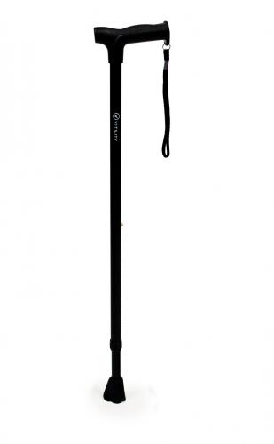 Vitility verstelbare wandelstok - Zwart