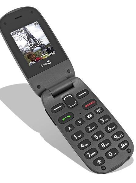 EOL - Doro GSM voor senioren met camera en zachte druktoetsen HP-607